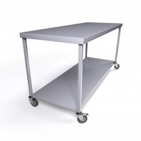 Mobile Stainless Steel Tables