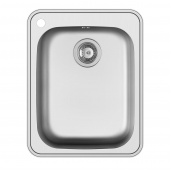 Inset Large Bowl Sink With Tap Hole
