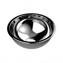 Domed Inset Stainless Steel Hand Basin (⌀260mm)
