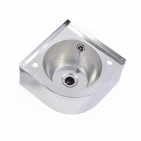 Corner Stainless Steel Hand Basin