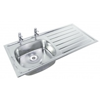 Wheelchair Accessible Inset Sink Top 1028 x 500mm