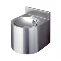 Drinking Fountain with shroud