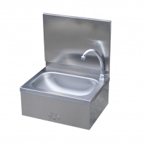Leg Operated Stainless Steel Hand Basin #4