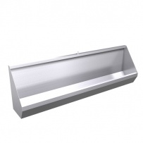 Trough Urinals - Wall Mounted