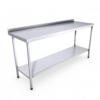 Stainless Steel Catering Prep Table - 1800 x 600mm