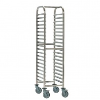 1/1 Gastronorm Racking Trolley