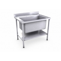 1000 x 700mm Jumbo Bowl Sink