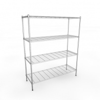 1520mm Chrome Wire Racking