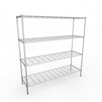 1830mm Chrome Wire Racking