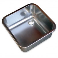 400 x 400 x 250mm Stainless Steel Inset Bowl
