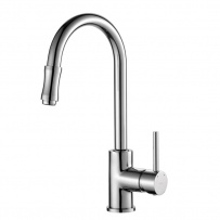 Monobloc Single Lever Pull Out Kitchen Tap