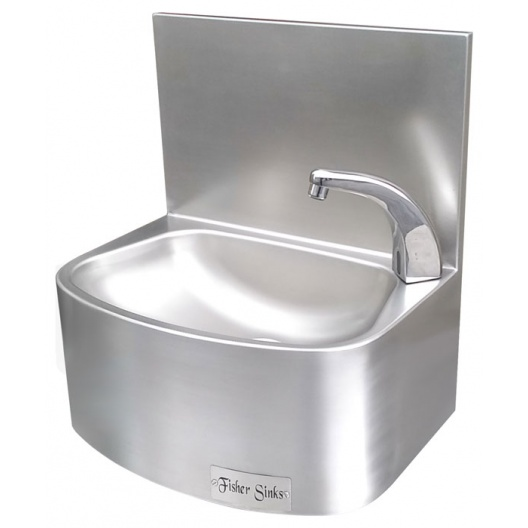 Sensor Operated Stainless Steel Hand Basin - Heavy Duty