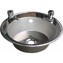 Inset Stainless Steel Hand Basin (With Tap Holes)