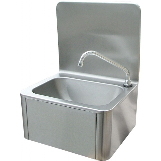 Leg Operated Stainless Steel Hand Basin #2