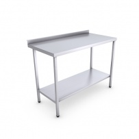 Stainless Steel Catering Prep Table - 1200 x 600mm