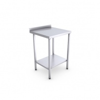 Stainless Steel Catering Prep Table - 600 x 600mm